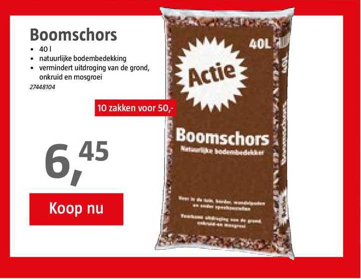 BAUHAUS Boomschors