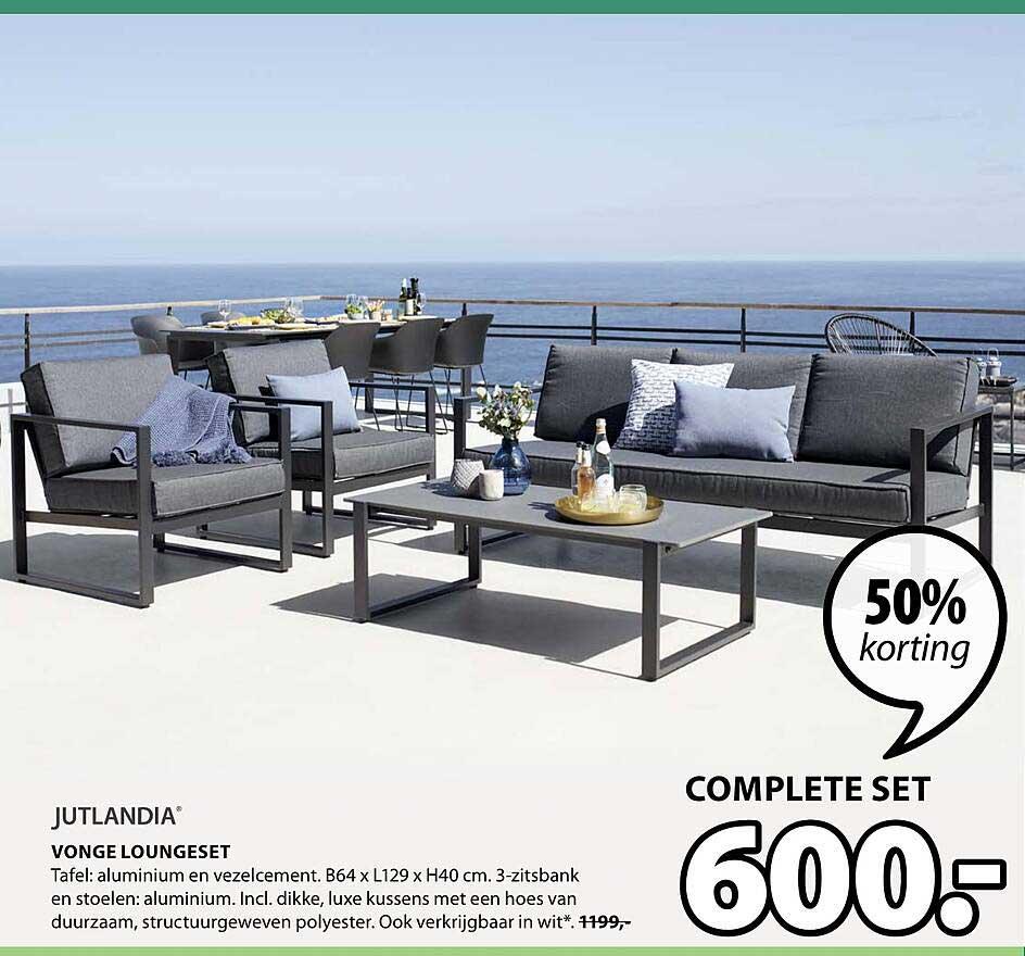 Jysk Vonge Loungeset 50% Korting