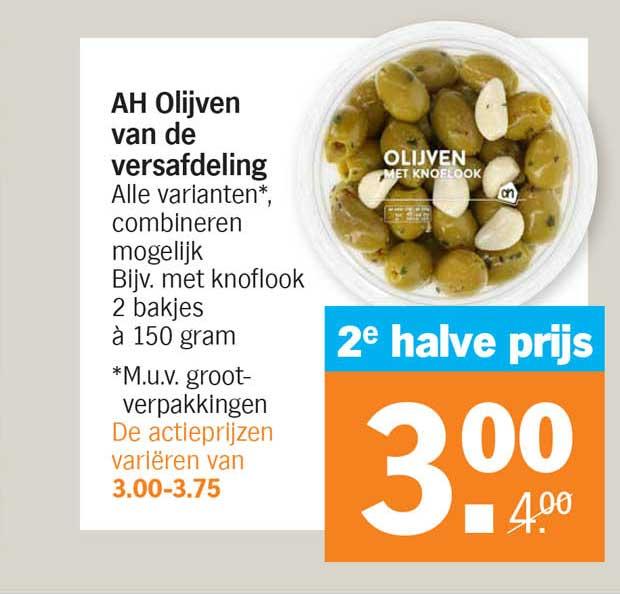 Albert Heijn AH Olijven Van De Versafdeling