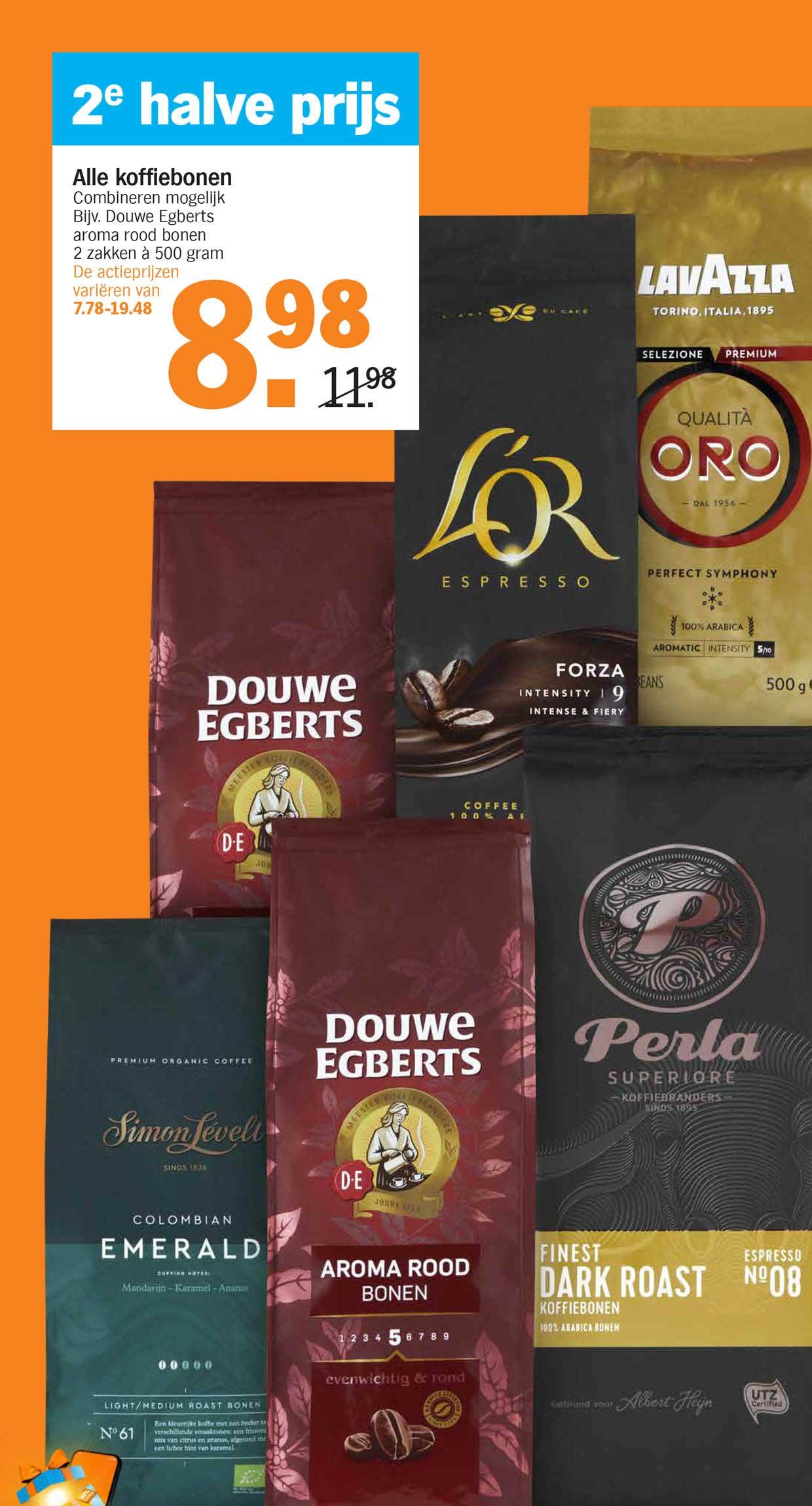 Albert Heijn Alle Koffiebonen