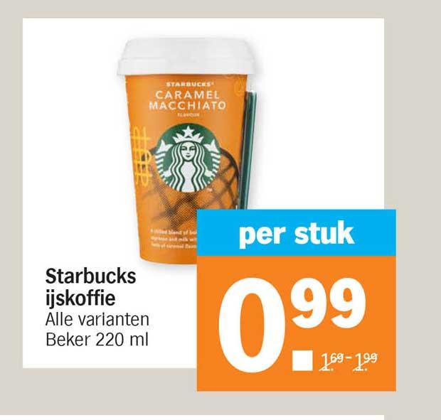 Albert Heijn Starbucks Ijskoffie