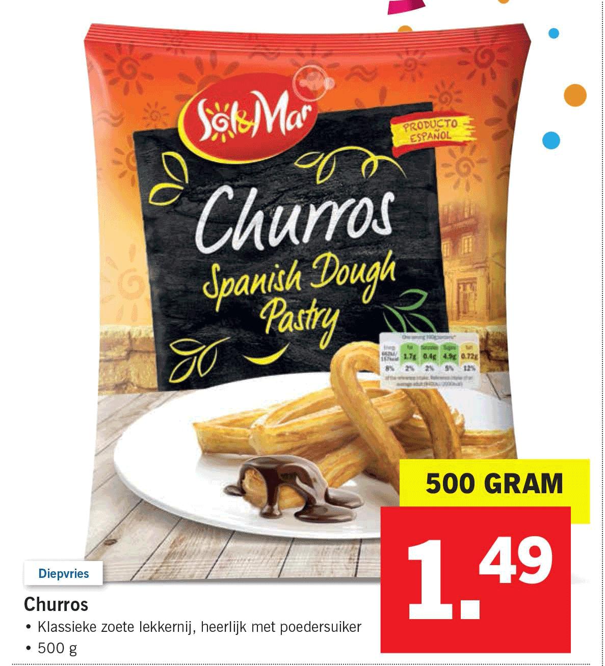 Lidl Churros