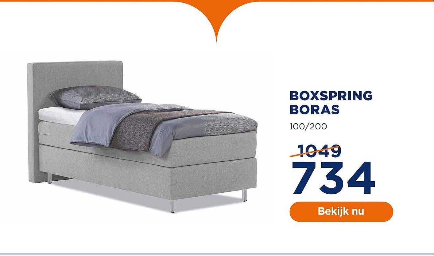 TotaalBED Boxspring Boras