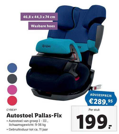 Lidl Shop Cybex Autostoel Pallas-Fix