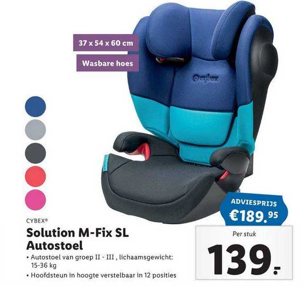 Lidl Shop Cybex Solution M-Fix SL Autostoel