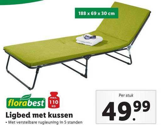 Lidl Shop Florabest Ligbed Met Kussen
