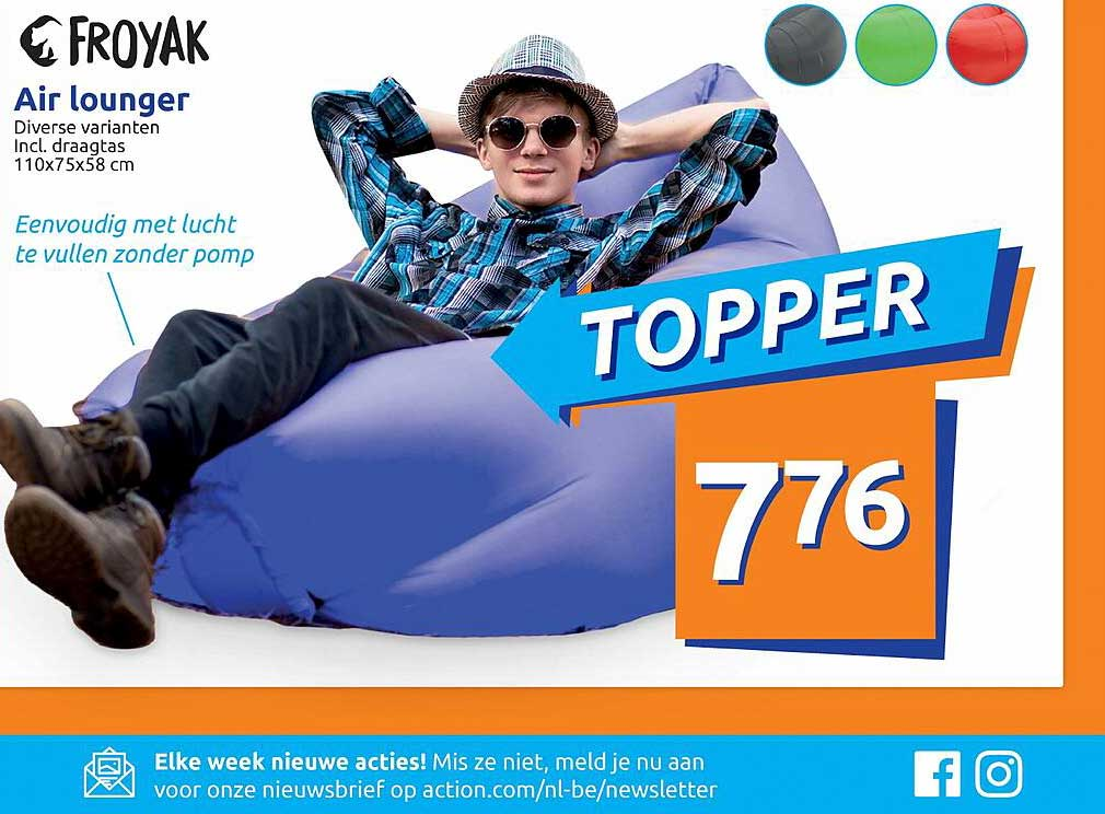 Action Froyak Air Lounger