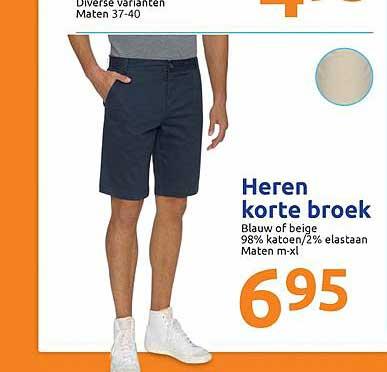 Action Heren Korte Broek