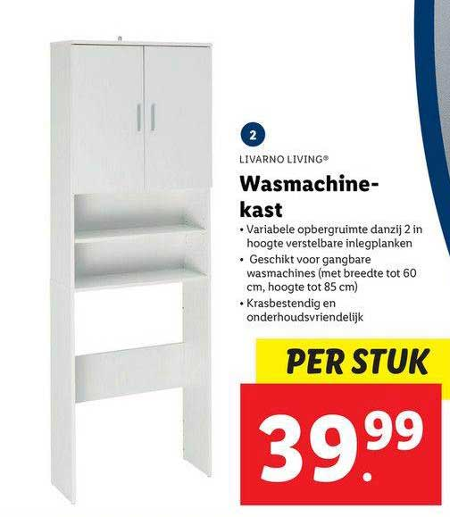 Lidl Shop Livarno Living Wasmachinekast