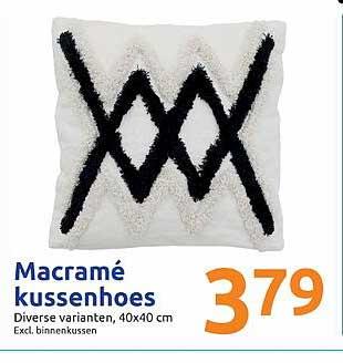 Action Macramé Kussenhoes