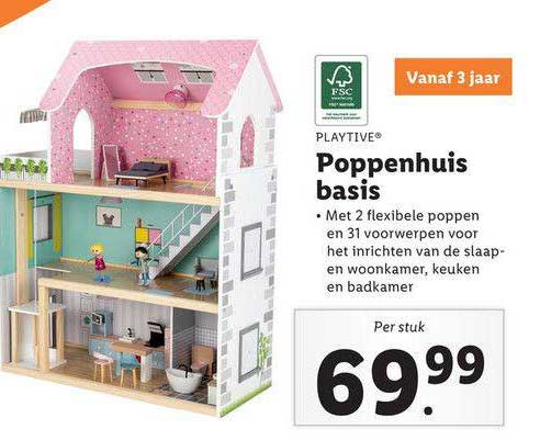 Lidl Shop Playtime Poppenhuis Basis