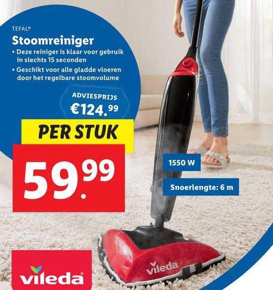 Lidl Shop Tefal Stoomreiniger
