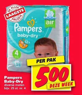 Nettorama Pampers