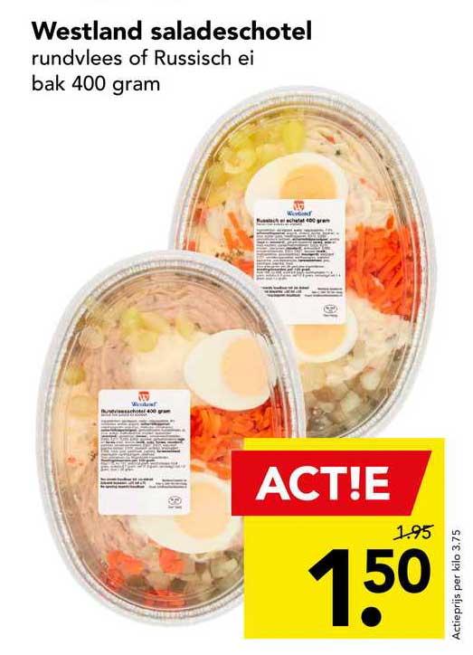 DEEN Westland Saladeschotel Rundvlees Of Russisch Ei
