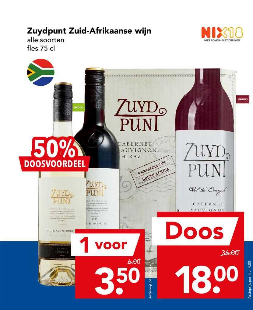 DEEN Zuydpunt Zuid-Afrikaanse Wijn