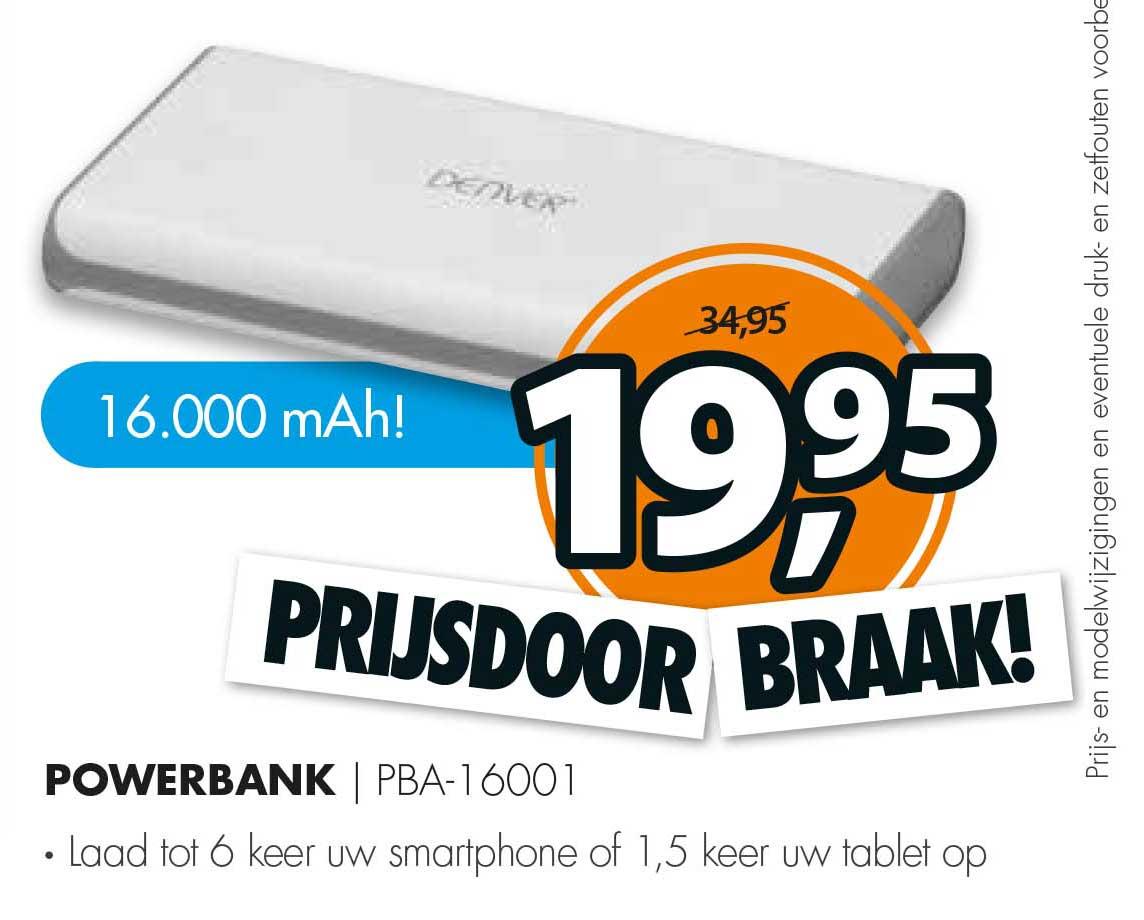 Expert 16000 MAh Powerbank PBA-16001