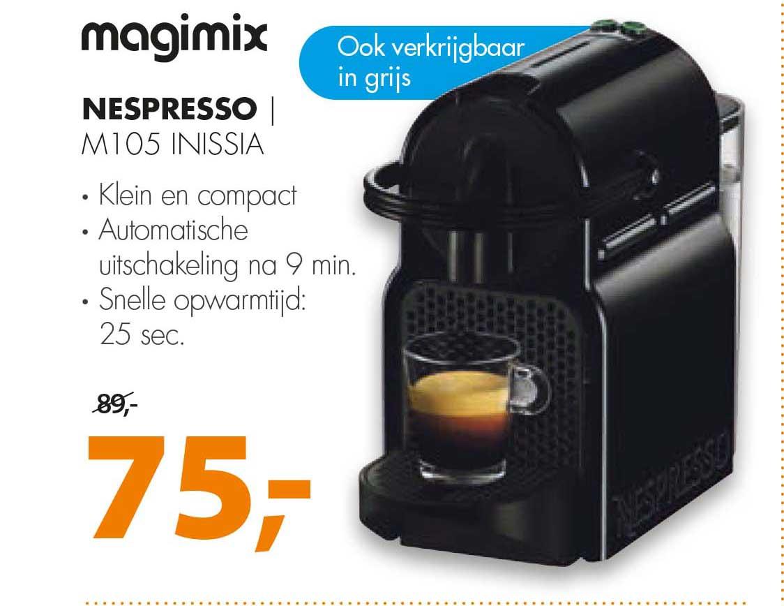 Expert Nespresso Magimix M105 INISSIA
