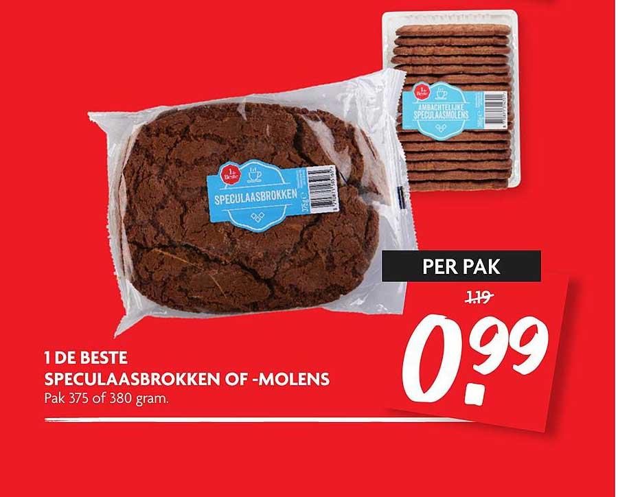 DekaMarkt 1 De Best Speculaasbrokken Of -molens
