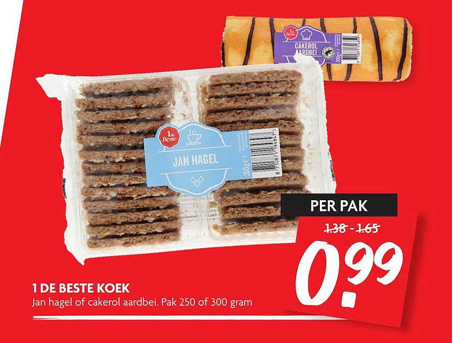 DekaMarkt 1 De Beste Koek Jan Hagel Of Cakerol Aardbei