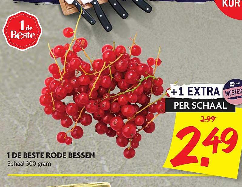 DekaMarkt 1 De Beste Rode Bessen
