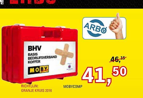Toolspecial BHV Bedrijfsverband Koffer