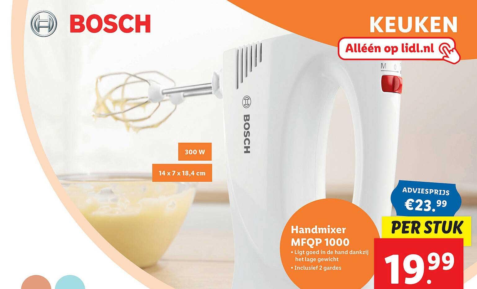Lidl Shop Bosch Handmixer MFQP 1000