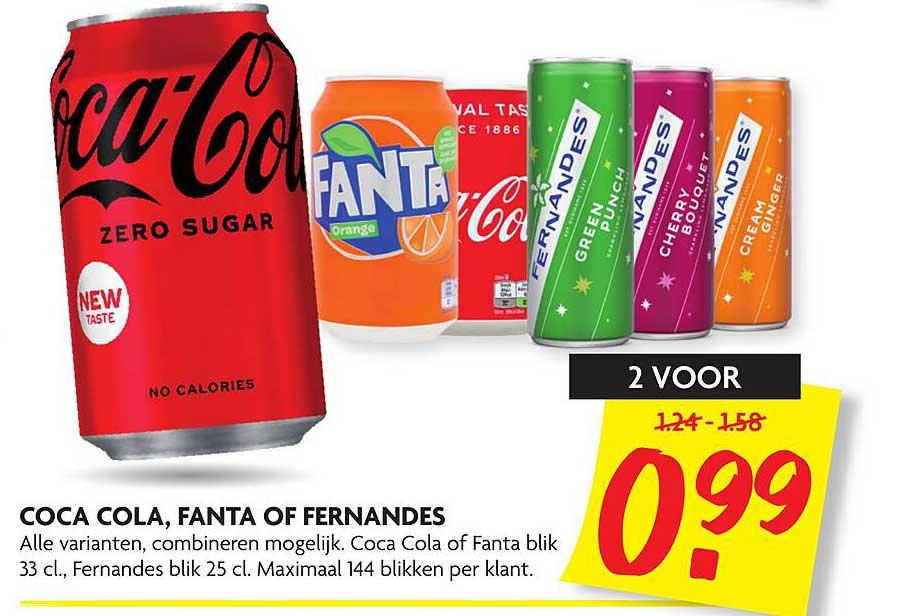 DekaMarkt Coca Cola, Fanta Of Fernandes