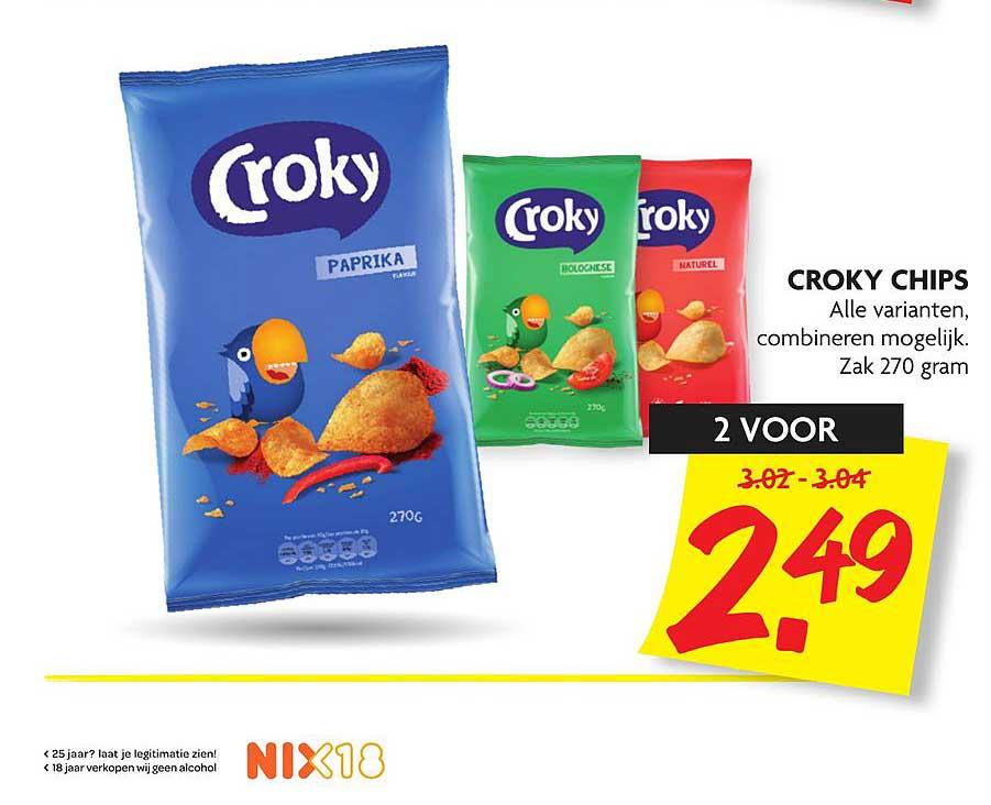 DekaMarkt Croky Chips