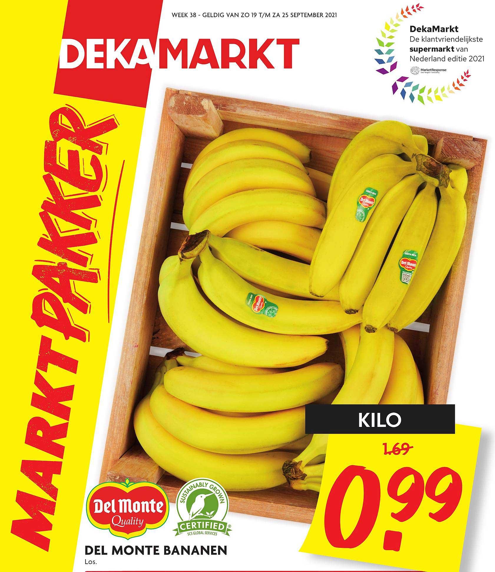 DekaMarkt Del Monte Bananen