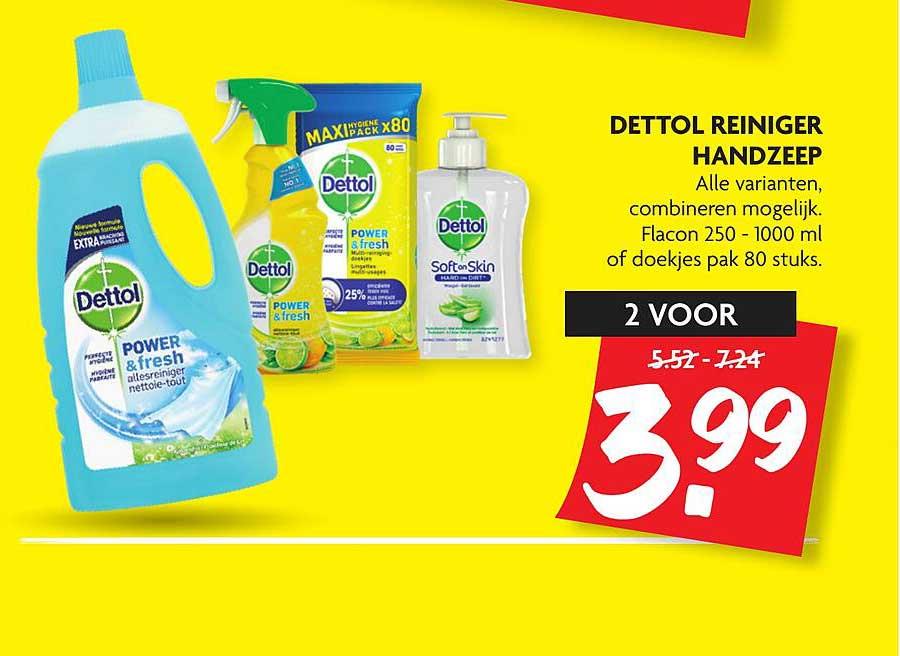 DekaMarkt Dettol Reiniger Handzeep