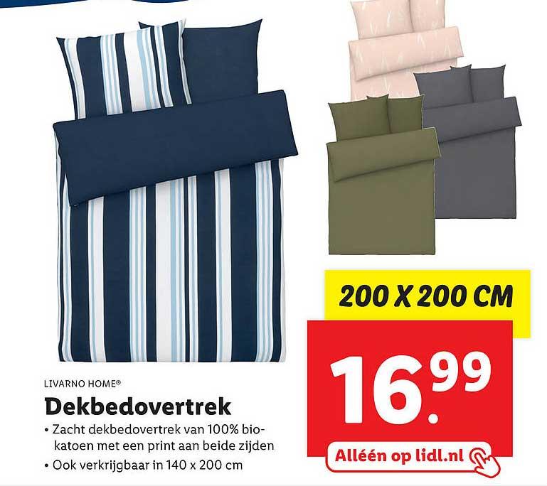 Lidl Shop Livarno Home® Dekbedovertrek