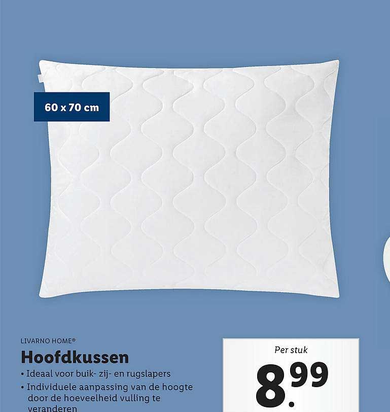 Lidl Shop Livarno Home® Hoofdkussen