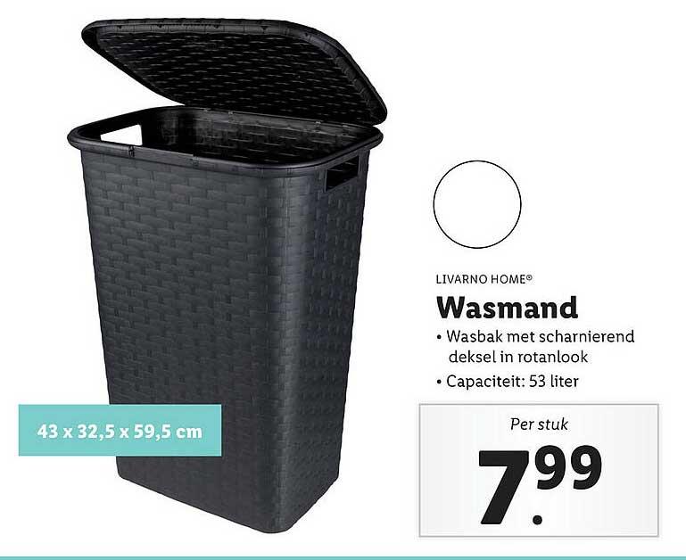 Lidl Shop Livarno Home® Wasmand