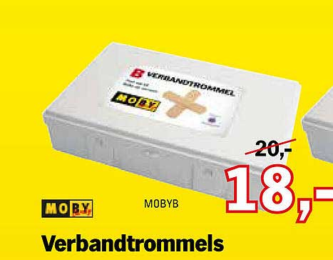 Toolspecial Moby Verbandtrommels