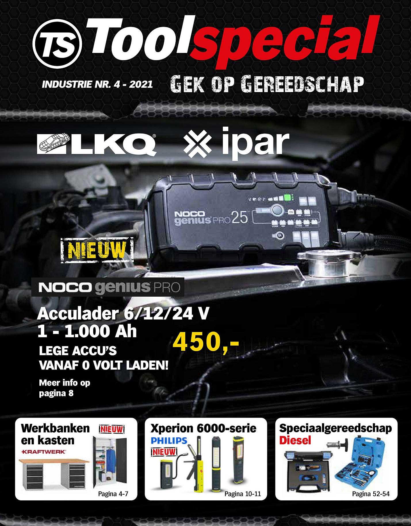 Toolspecial Noco Genius Pro Acculader 6-12-24 V 1 - 1.000 Ah