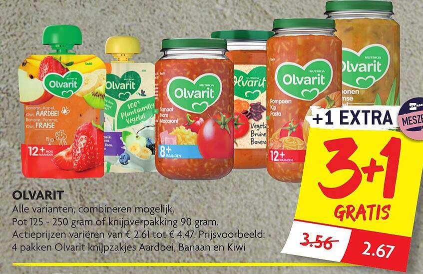 DekaMarkt Olvarit 3+1 Gratis