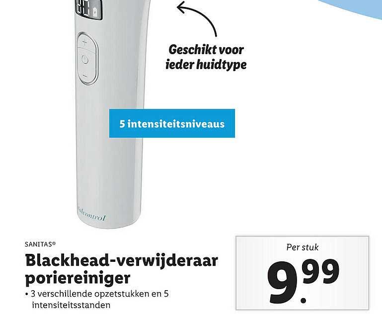 Lidl Shop Sanitas® Blackhead-Verwijderaar Poriereiniger