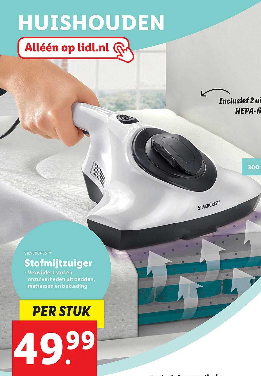 Lidl Shop Silvercrest® Stofmijtzuiger
