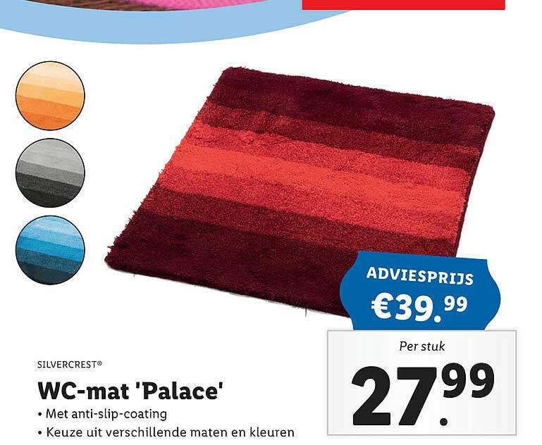 Lidl Shop Silvercrest® WC-Mat 'Palace'