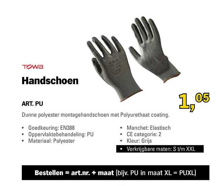Toolspecial Towa Handschoen