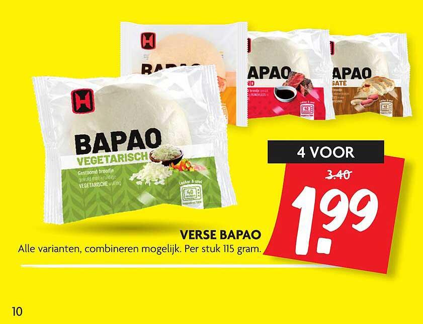 DekaMarkt Verse Bapao
