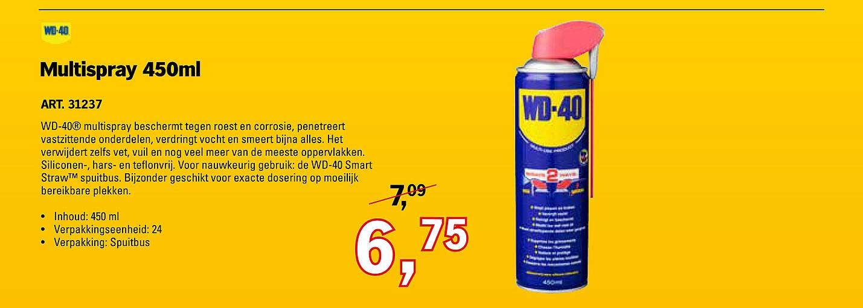 Toolspecial WD-40 Multispray 450ml