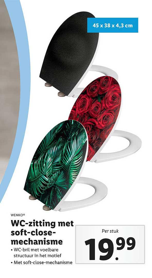 Lidl Shop Wenko® WC-Zitting Met Soft-Close-Mechanisme