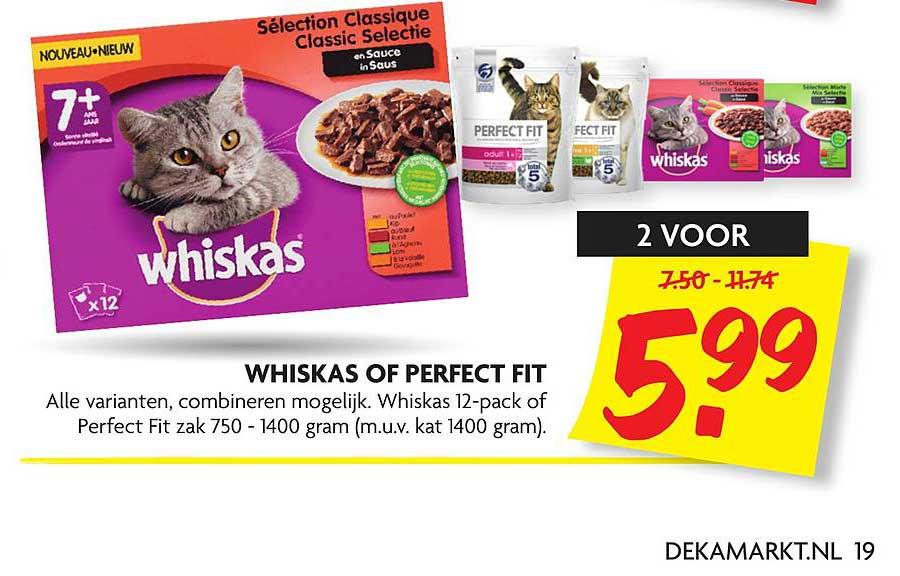 DekaMarkt Whiskas Of Perfect Fit