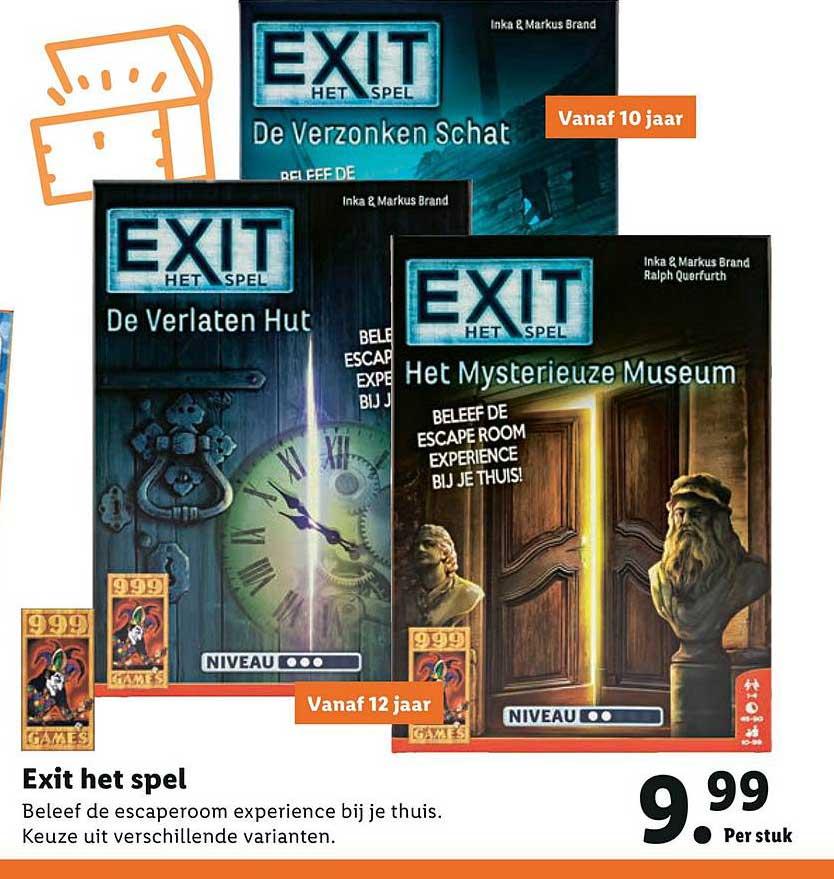 Lidl Exit Het Spel