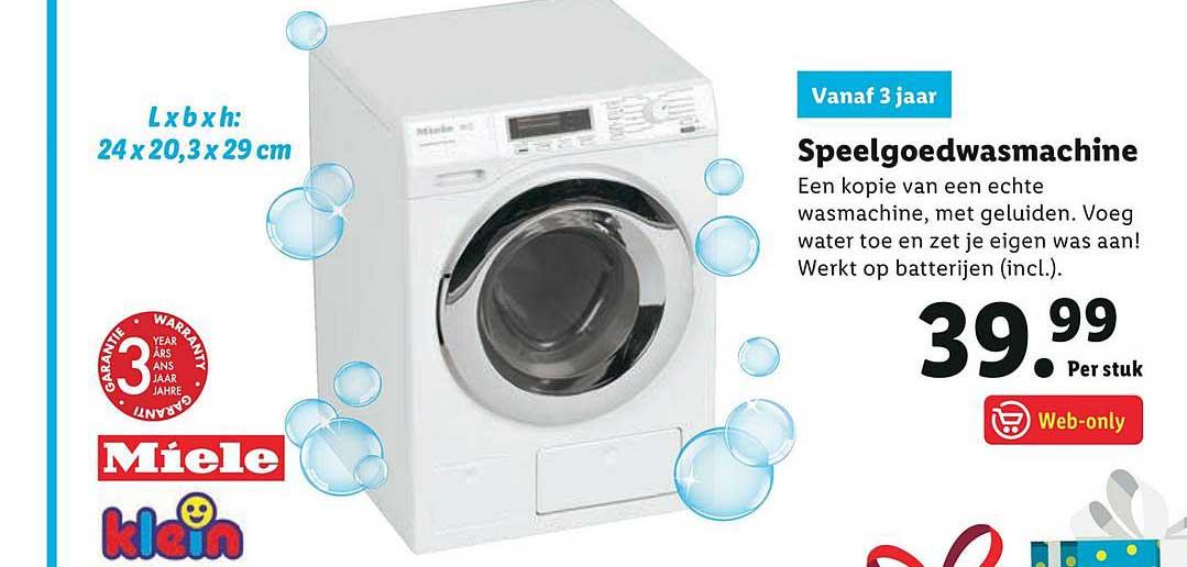 Speelgoedwasmachine kopen? | LIDL
