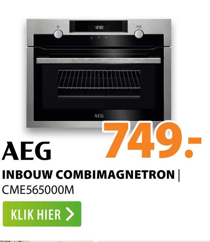 Expert AEG Inbouw Combimagnetron   CME565000M