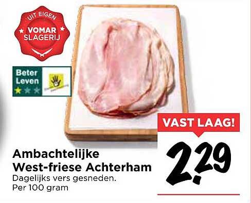 Vomar Ambachtelijke West-Friese Achterham