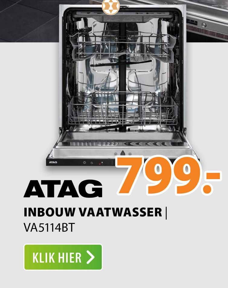 Expert Atag Inbouw Vaatwasser   VA5114BT