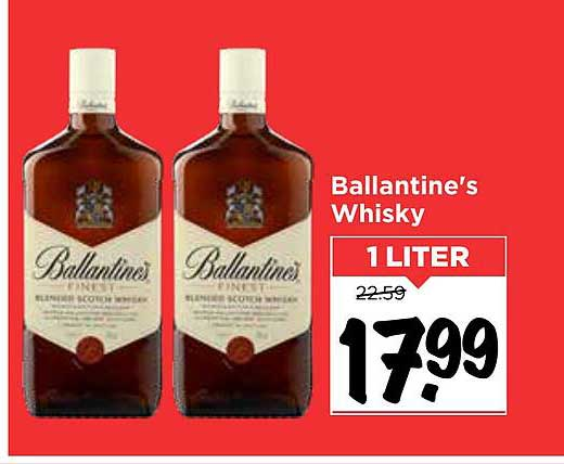 Vomar Ballantine's Whisky